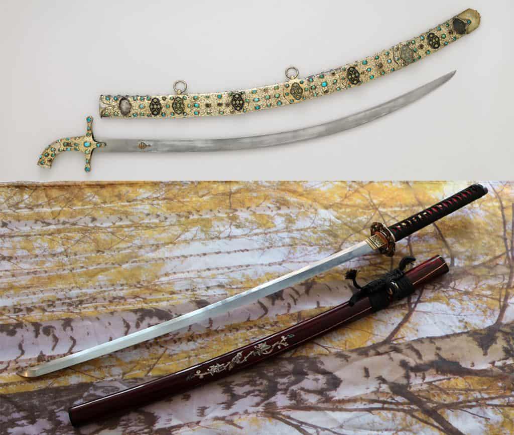 Katana vs Scimitar