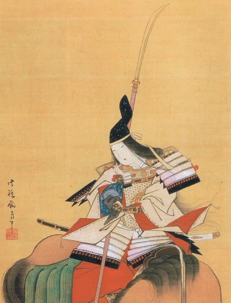 Onna Bugeisha with Naginata Polearm
